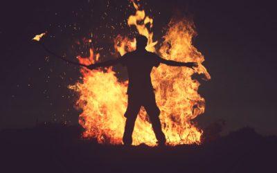 Der erste Schritt ins Feuer!